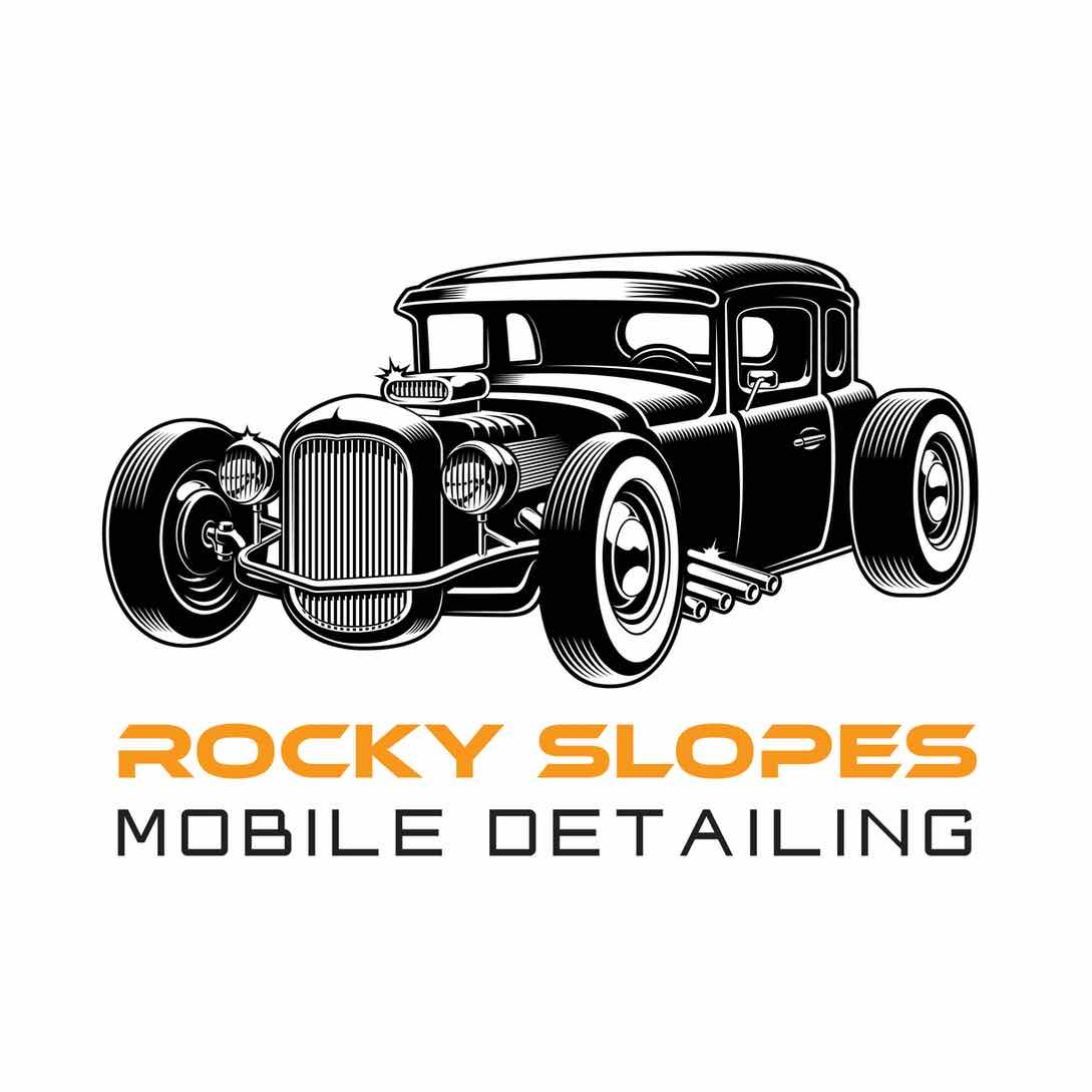 Rocky Slopes Mobile Detailing Logo