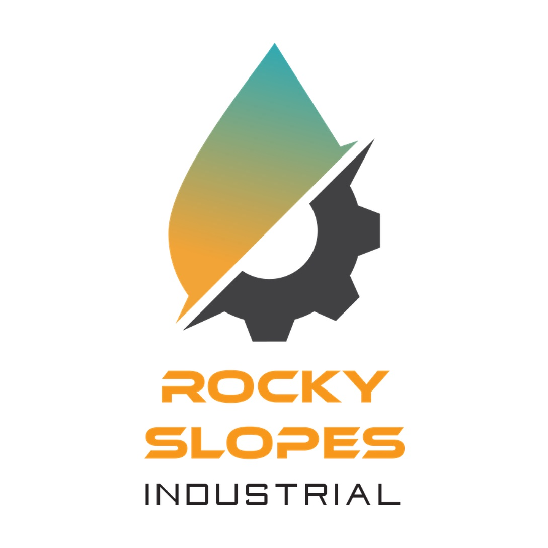 Rocky Slopes Industrial Logo